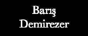Barış Demirezer Logo - Beyaz